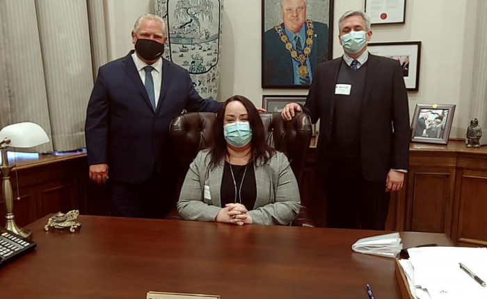 OPSWA President discusses PSW Profession with Premier Ford & Ministers