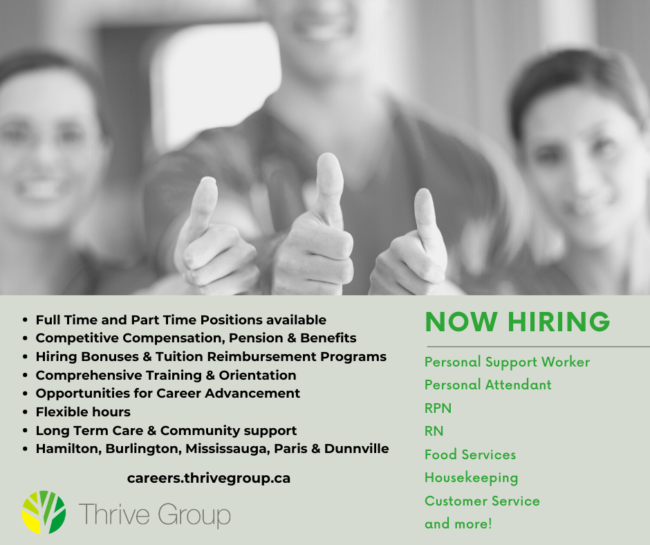 Thrive Group - we are hiring