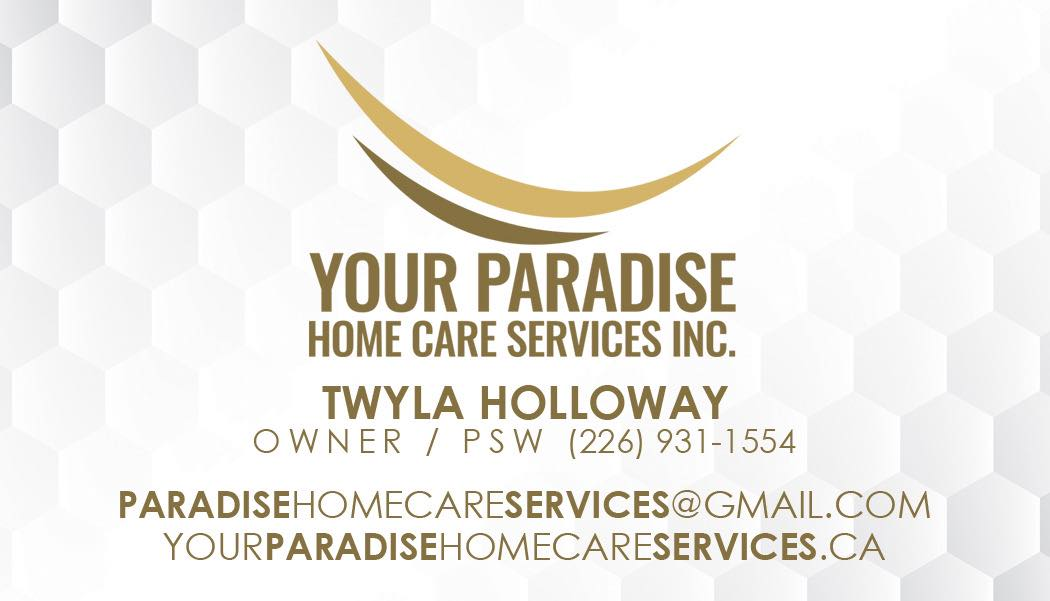 Your Paradise Home Care Services Inc.